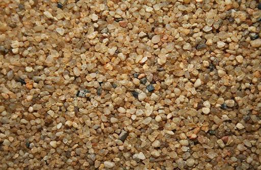 Крупно-фракционного песка